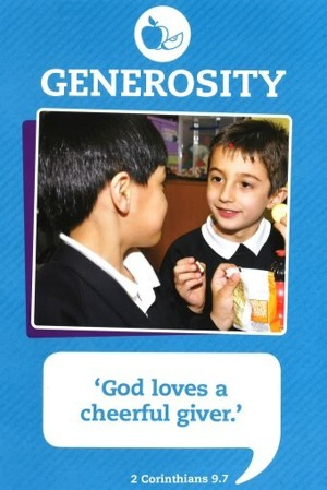 Generosity poster